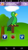 Screenshot of Animal Sounds & Talking Parrot