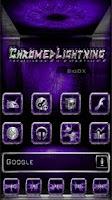 Screenshot of Chromed Lightning Multi Purple