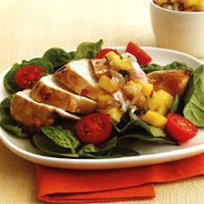 Citrus Chicken With Pineapple Salsa