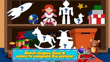 Screenshot of Awesome Shape Puzzles 123 HD
