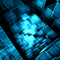 Matrix 3D Cubes 3 LWP icon