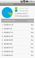 Screenshot of NASM Trainer Exam Prep