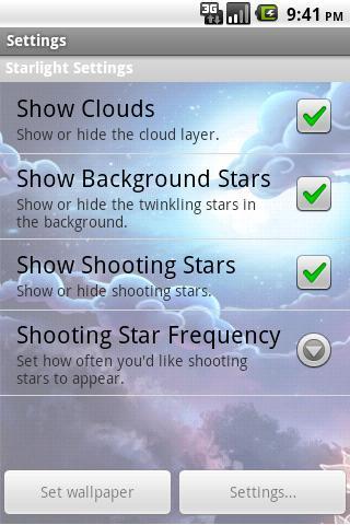 【免費個人化App】星光動態桌布-APP點子