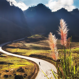 S-Vietnam by Ngo Huy - Landscapes Mountains & Hills ( sunset, vietnam,  )
