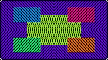Screenshot of iTrippin Fun Optical Illusions