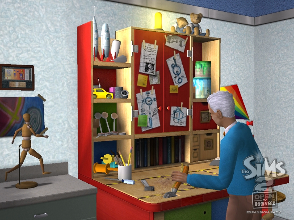 The Sims 2 - Open For Business