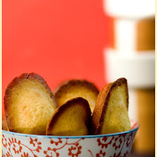 Honey and Orange Madeleines