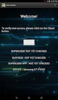 Screenshot of Root Verifier