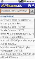 Screenshot of Autobazar EU