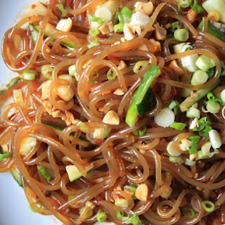 Vermicelli in Chili Oil, Soy Sauce, and Vinegar