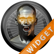 Poweramp Widget Orange Atlantis