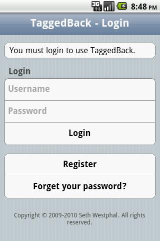 TaggedBack