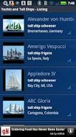 Screenshot of Yachts and Tall Ships