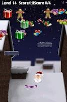 Screenshot of Santa Christmas Roof Hop
