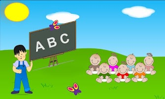 Screenshot of Kids Learn - ABC Zoo