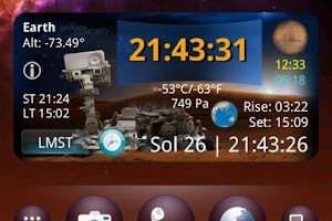 Screenshot of Curiosity Widget