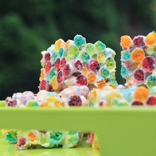 Orange Zested Rainbow Crispies