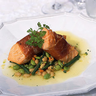 Prosciutto-Wrapped Salmon