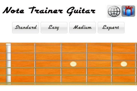 Beginner Note Trainer: Guitar