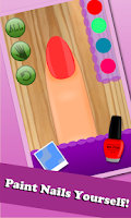 Screenshot of Princess Nail Makeover Salon