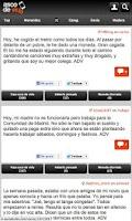 Screenshot of Asco de Vida Oficial