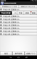 Screenshot of 管理業務主任者過去問