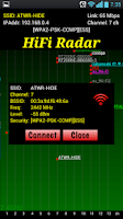 Screenshot of HiFi Radar
