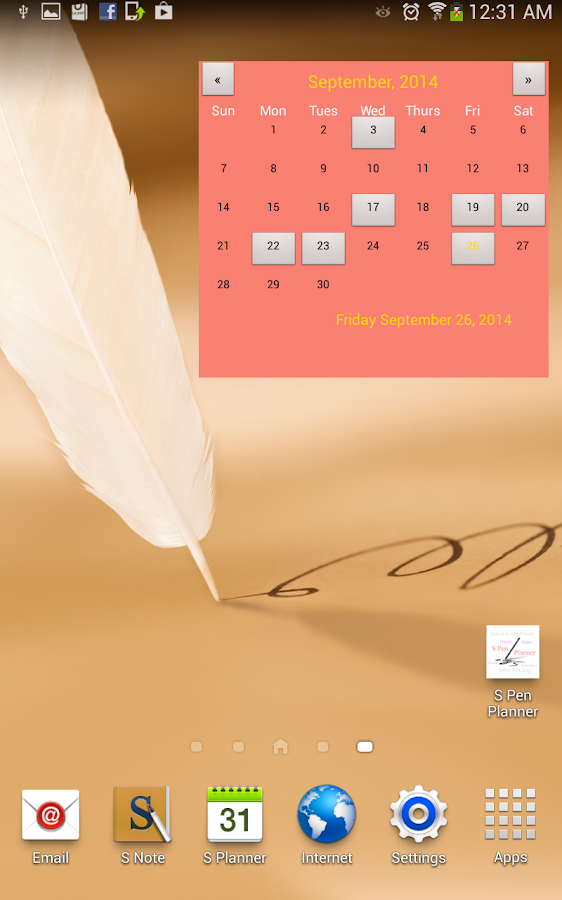 S Pen Planner Screenshot 12