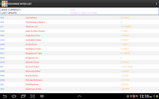 Screenshot of All Currency Converter