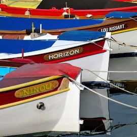 Bateaux by Bertrand Lavoie - Transportation Boats ( bateaux, nice )