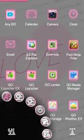Screenshot of Lover Next Launcher 3D Theme