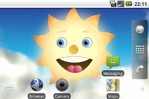 Screenshot of SunMoon Live Wallpaper