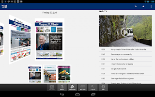 Screenshot of BT eAvis
