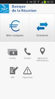 Screenshot of Banque de la Réunion - BRSMART