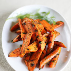 Grilled Carrots with Lemon and Dill
