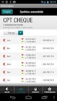 Screenshot of InfoComptes