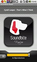Screenshot of Soundbite Radio