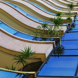 BALCONES by Kile Zabala - Buildings & Architecture Architectural Detail ( argentina, arquitectura, ciudad, laplata, buenos aires, balcones, edificios, detelles )
