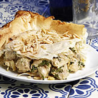 Chicken & Filo Pie (Bstilla)