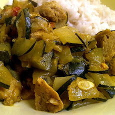 Courgette Curry