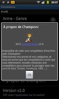 Screenshot of Ancienne version de Champion!