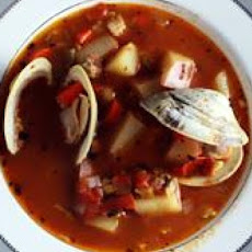 Manhattan-Style Clam Chowder with Chilies