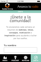 Screenshot of Radio Emprende
