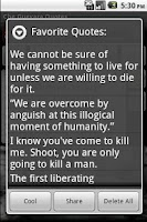 Screenshot of Che Guevara Quotes