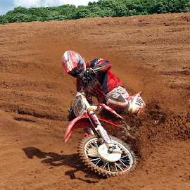 Motocross Action Shot by Anton Parker - Novices Only Sports ( motocross, photographer, fatcats, sandy, young )