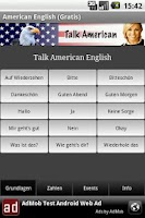 Screenshot of Talk American (Free)