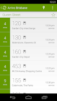 Screenshot of Arrivo Brisbane Transit App