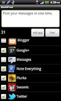 Screenshot of Multipost
