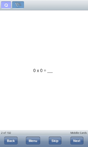 Basic Multiplication Facts