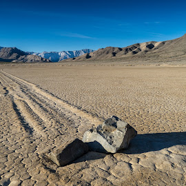 The Racetrack by Paul Brady - Landscapes Deserts ( death valley, dry, desert, california )